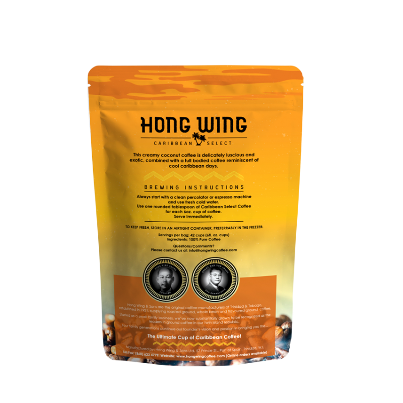 HW Coffee - Island Coconut