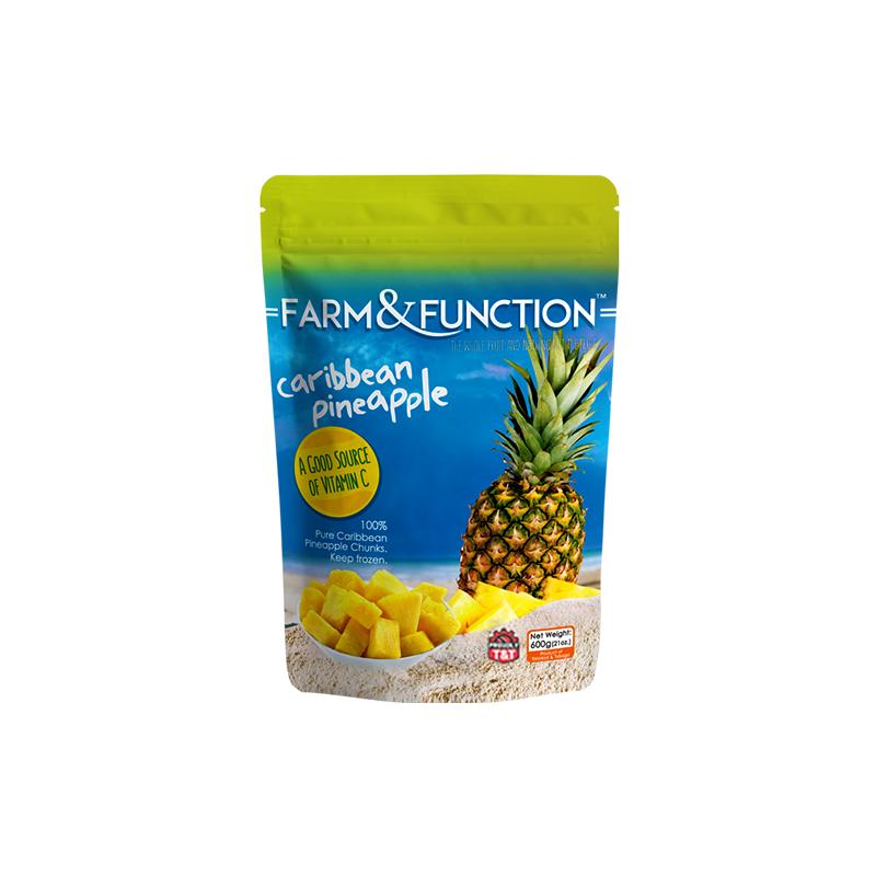 Frozen Pineapple per case