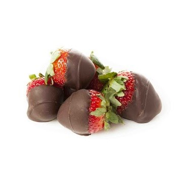 6 Chocolate covered Strawberries (1/2 doz)