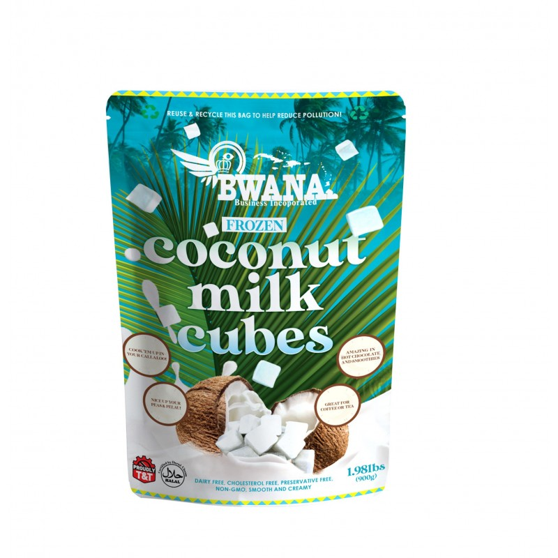 Coconut Milk Cubes (Frozen)