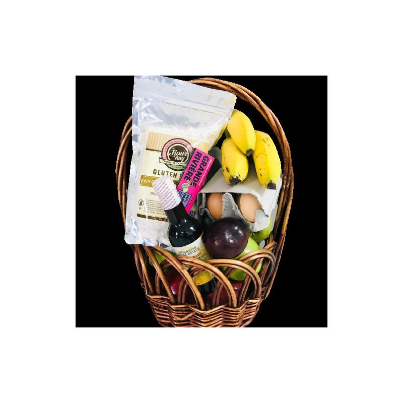 Breakfast in Bed Basket