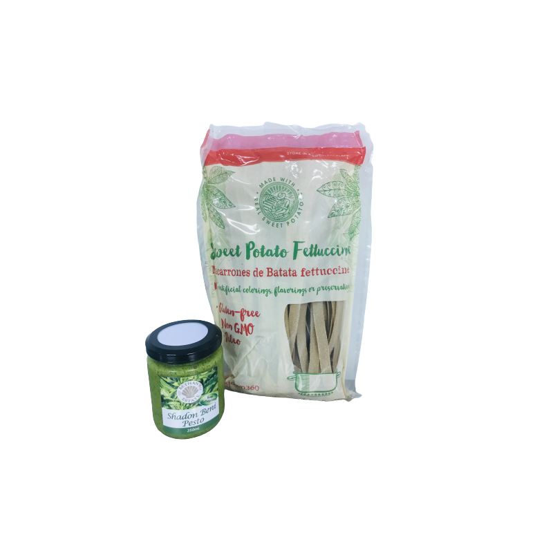 Pesto Sweet Potato Pasta Combo