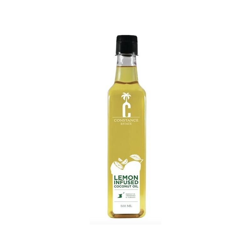 Infused Coconut Oil - Lemon