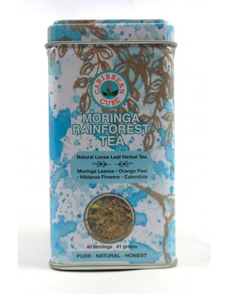 Caribbean Cure Herbal Tea ( Moringa Rainforest )
