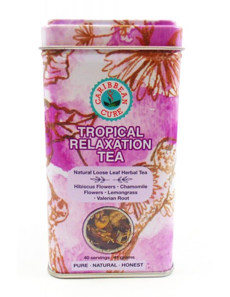 Caribbean Cure Herbal Tea ( Tropical Relaxation )
